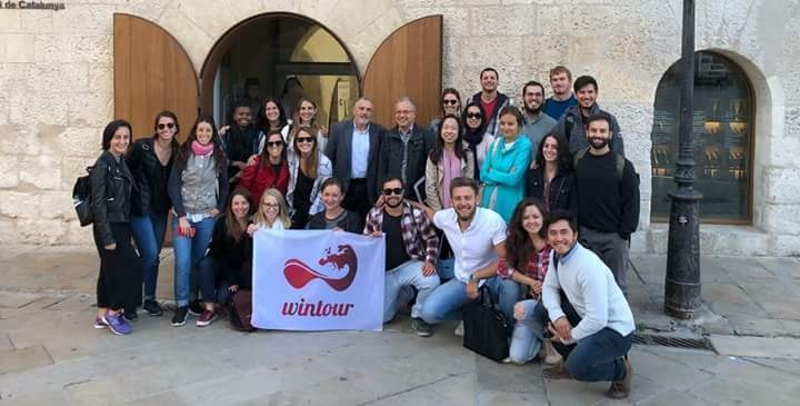 Estudiantes del Master on Wine Tourism Innovation visitan el Penedés