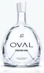 Oval, structured Vodka